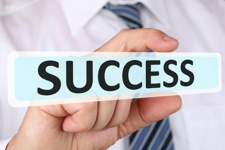 Zakenman business concept succes succesvolle groei financiert leiderschap Stockfoto - 48294003
