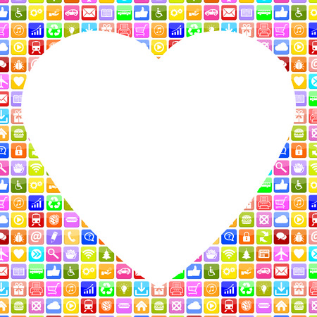 internet dating: Application Apps App Icon searching partner and love online on internet dating