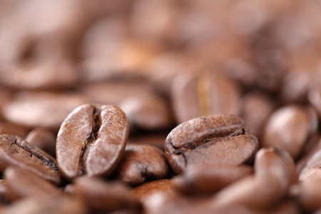 copyspace: Fresh coffee beans with copyspace Arabica Espresso