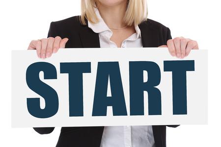empezar: Starting comience comienzo concepto de negocio objetivos de carrera motivaci�n visi�n