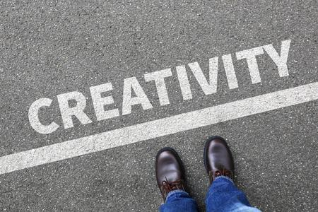 pensamiento creativo: Creativity creative imagine imagination thinking ideas success successful businessman business concept inspiration Foto de archivo