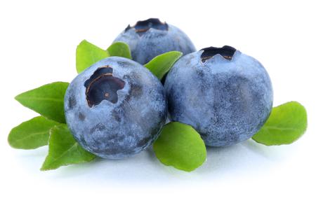 blueberries: Blueberry blueberries berry berries fruit isolated on a white background