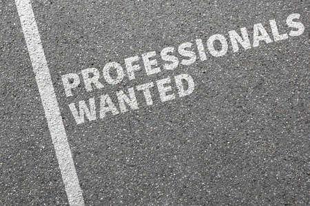 empleados trabajando: Profesionales querían puestos de trabajo, trabajo laboral de los empleados profesionales de reclutamiento concepto de negocio