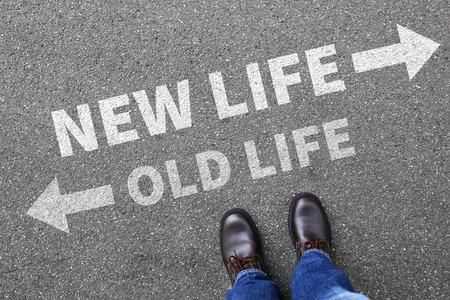 Old new life future past goals success decision change decide choice