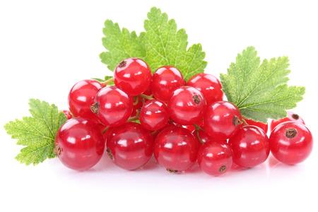 Rode bes bessen bessen vruchten fruit op wit wordt geïsoleerd Stockfoto - 65102784