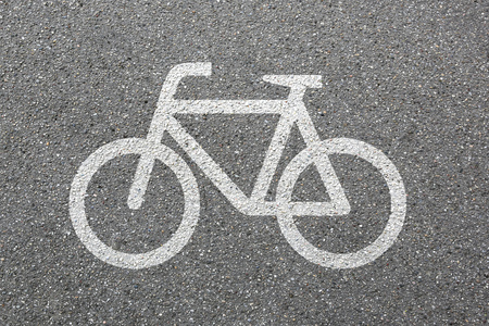 bike lane: Bike lane path way cycle bicycle road traffic city transport