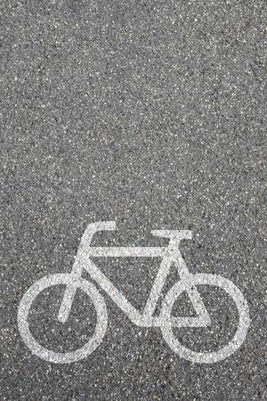 bike lane: Bike lane path way cycle bicycle road traffic city copyspace copy space transport