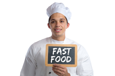 eating fast food: Fast food unhealthy eating eat cook cooking board isolated on a white background