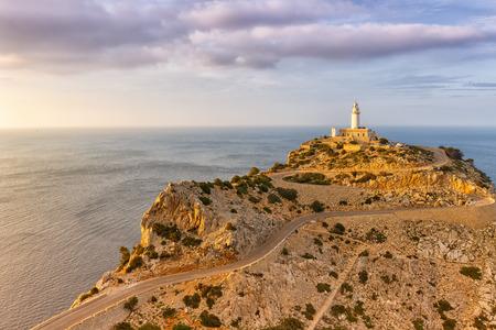 Majorca Mallorca Cap Formentor landscape nature Mediterranean Sea Balearic Islands Spain copyspace travel copy space Foto de archivo