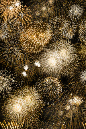 New Year's Eve fireworks gold golden background portrait format years year firework backgrounds