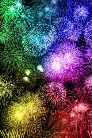 New Years Eve fireworks background portrait format colorful years year firework backgrounds