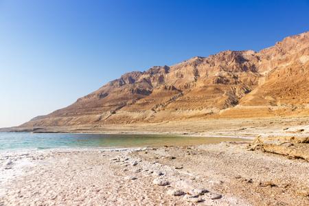 Dead Sea Israel landscape copyspace copy space nature vacation holidays