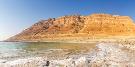 Dead Sea Panorama Israel copyspace copy space landscape nature vacation holidays