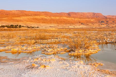 Dead Sea Israel sunrise morning landscape nature vacation holidays