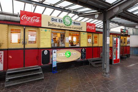 Berlin, Germany - October 27, 2020: Berlin Tegel TXL Airport Ess-Bahn in Germany. Sajtókép