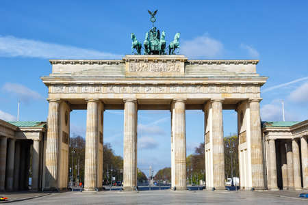 Berlin Brandenburg Gate Brandenburg Gate in Germany sight 新聞圖片
