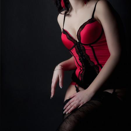 Sensual woman body Stock Photo