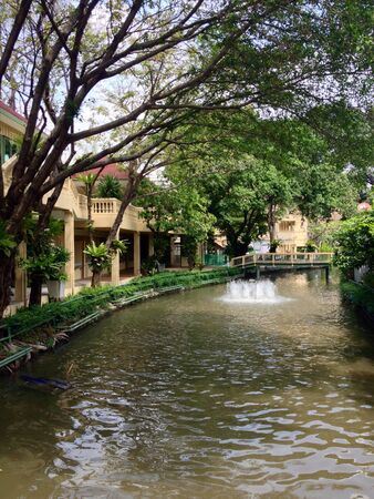 saun: The river with nature feeling at Saun Dusit university