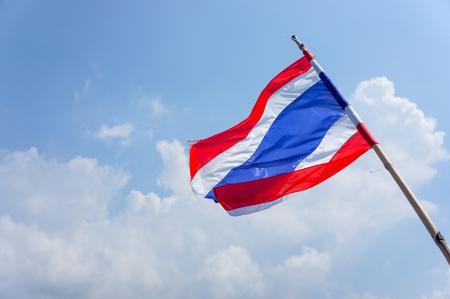 flicking: Thal flag  Stock Photo