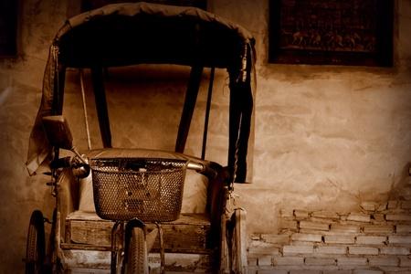 trishaw: The Classic Trishaw Stock Photo