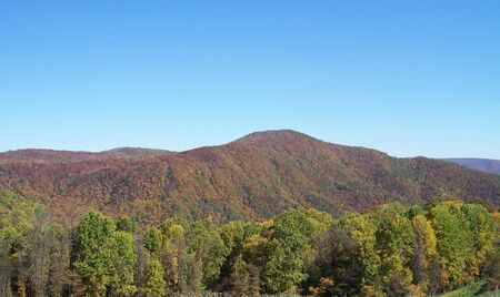 Smoky Mountains Banco de Imagens