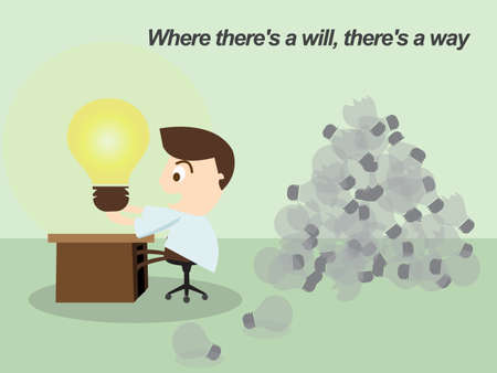 Thomas Alva Edison  Proverb   Where there is a will, there is a way