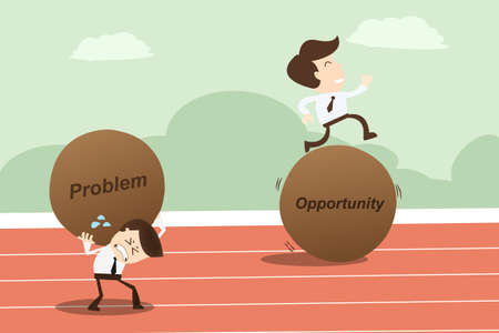 Problem opportunity ,Business Concept Vector