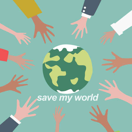 save my world Vector