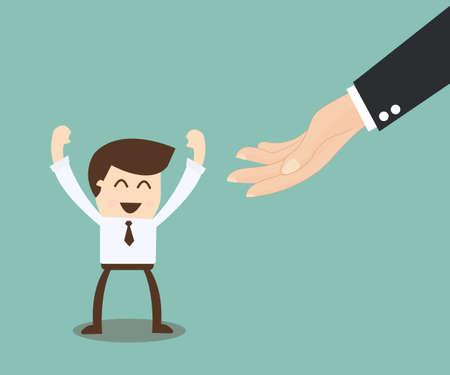 comunicacion no verbal: posibilidad de concepto - idea ayudar en ascender en la carrera ladde Vectores