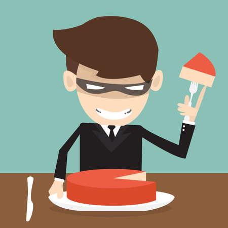 Market Share - Thief Businessman misapplied profits shareholder