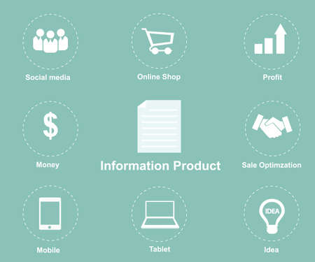 Information Product icon Vector