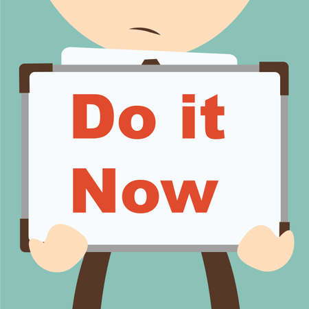 do it: Business hand writing Do it Now
