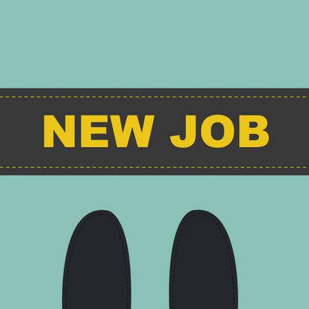 new job: start new job concept
