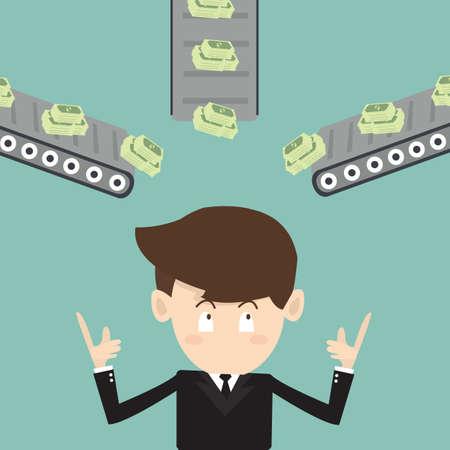 passive income: multi channel income  - passive income
