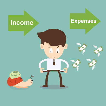 expenses: Income and Expenses concept