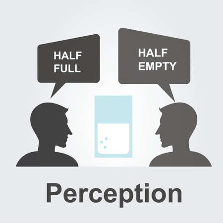 wahrnehmung: Perception Konzept