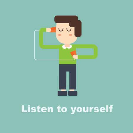 Luister naar jezelf en het hart