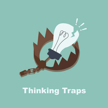 traps: Broken bulb with Traps  Thinking Traps