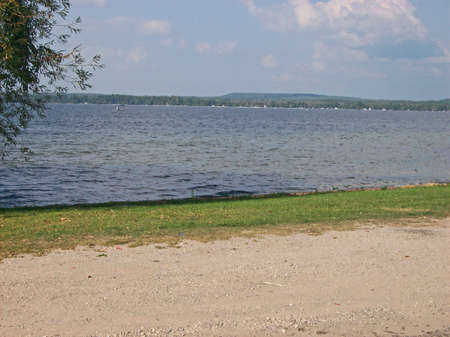 bear lake: Bear Lake, MI, small park just off US-31, behind the