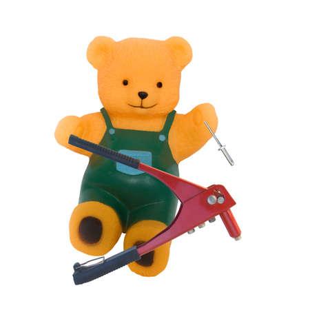 working bear