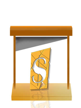 The dollar symbol