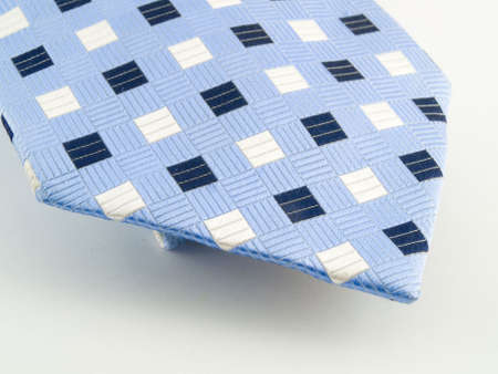 Close Up Neck Ties Showing Silk Pattern on Rich Cloth photo