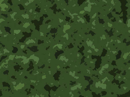 Green Jungle Army Camouflage  Background Texture Design