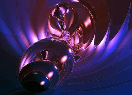 Romantic Glowing Glass Modern abstract background pattern illustration Фото со стока
