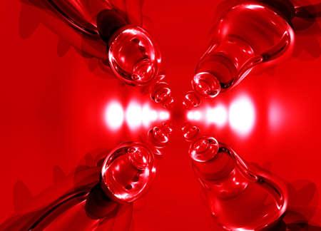 Shiny Glowing Glass Modern abstract background pattern illustration Фото со стока