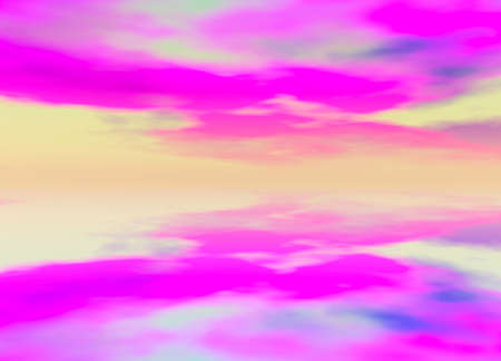 3d Rendered Distant Skyscape Horizon Stock Photo - 3799654