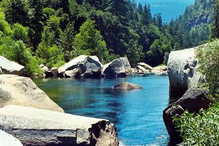Yosemite National Park River Stok Fotoğraf - 1335263
