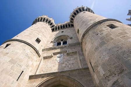 Castle in Europe Stok Fotoğraf - 1343656