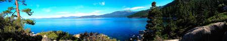 Panoramic Morning Lake Tahoe