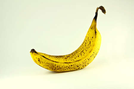 Spotted Banana Stock Photo
